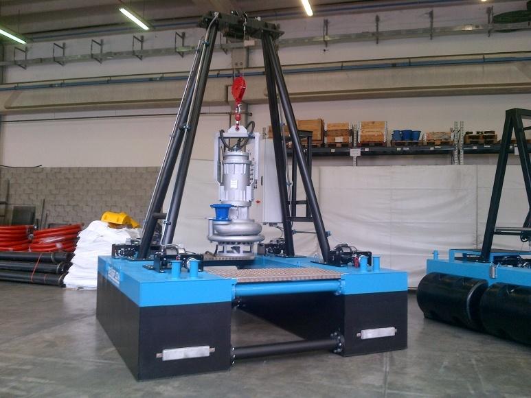 Rc Electric Hydraulic Dredge Evo Pumps